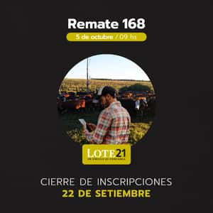 168° Remate Lote 21
