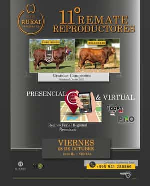 11° REMATE REPRODUCTORES